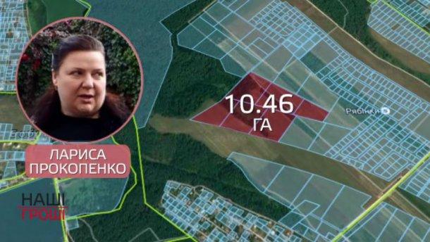 Как сестра скандального «бриллиантового прокурора» завладела землей под Киевом
