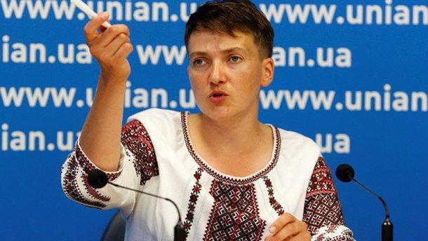 Стали известны истинные мотивы поездки Савченко на Донбасс