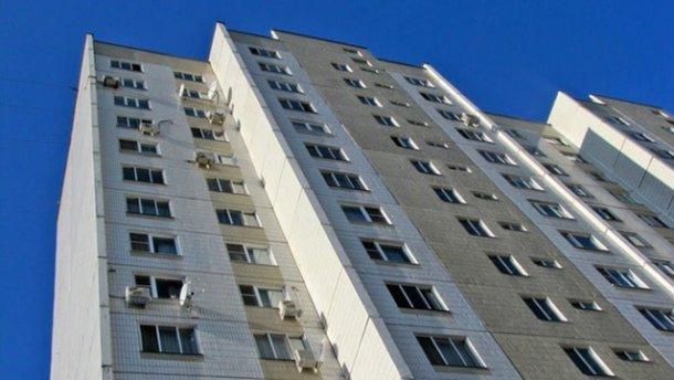 Пенсионер выбросился с 13 этажа в Киеве