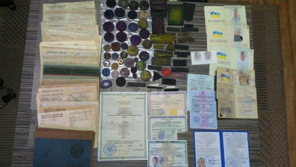 В Одесской области массово штамповали документы для боевиков