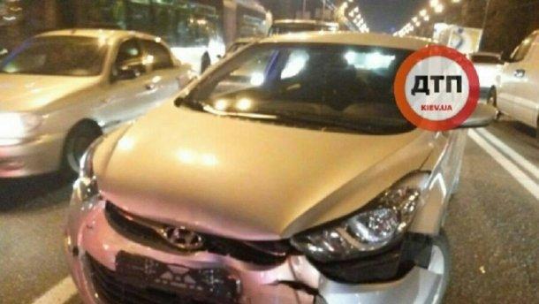 Пьяный водитель устроил погоню в Киеве