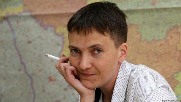 Савченко прокомментировала возможный повторный плен