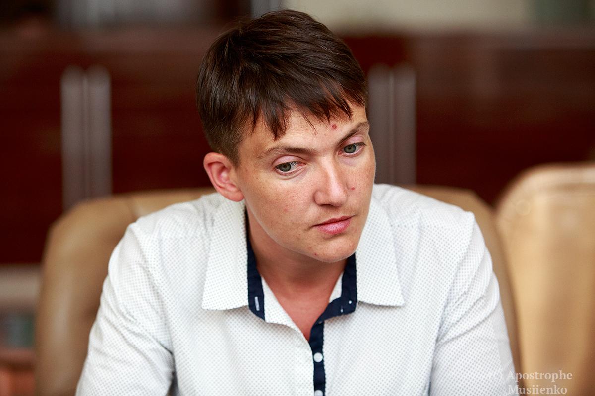 Какой ты после этого на х*** офицер: Савченко записала видеообращение к Захарченко (ВИДЕО 18+)