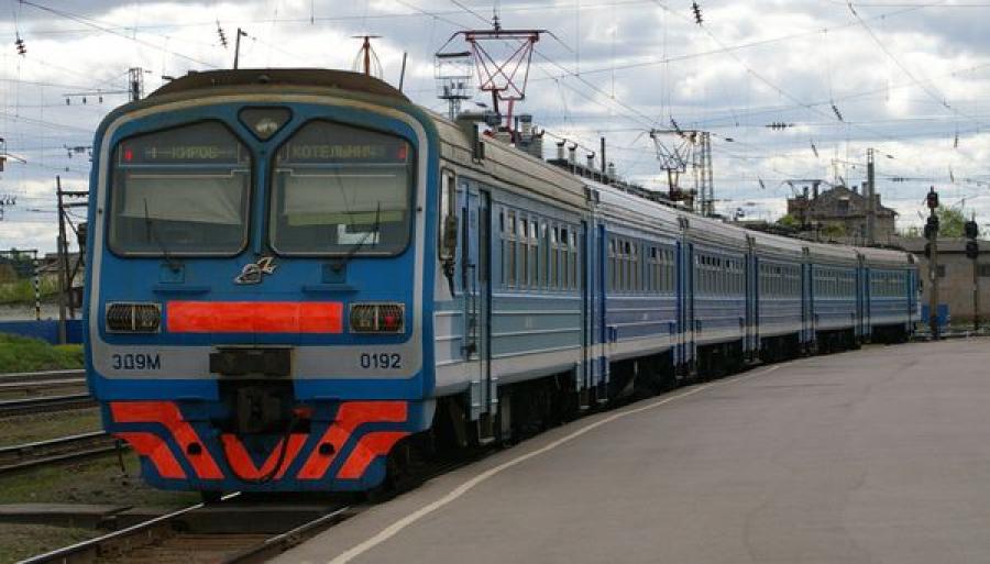 Электричка Тернополь-Львов загорелась на ходу