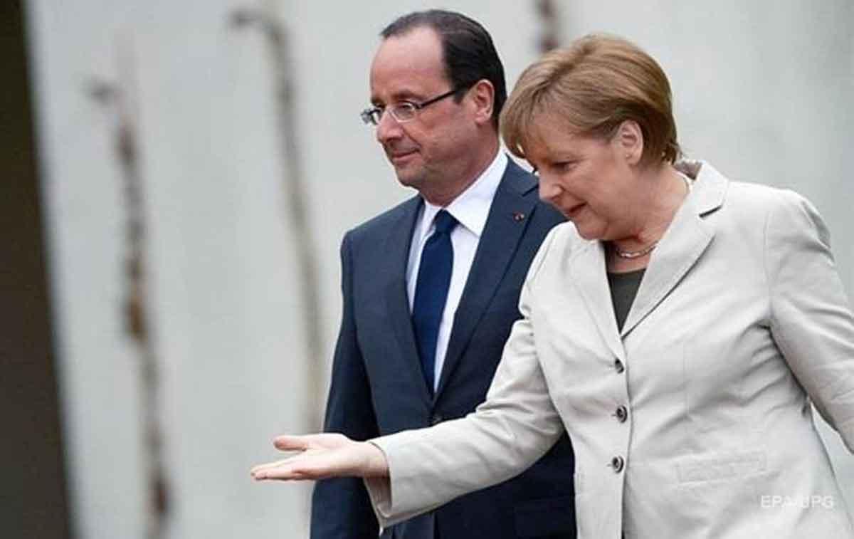 Порошенко переубедил Олланда и Меркель