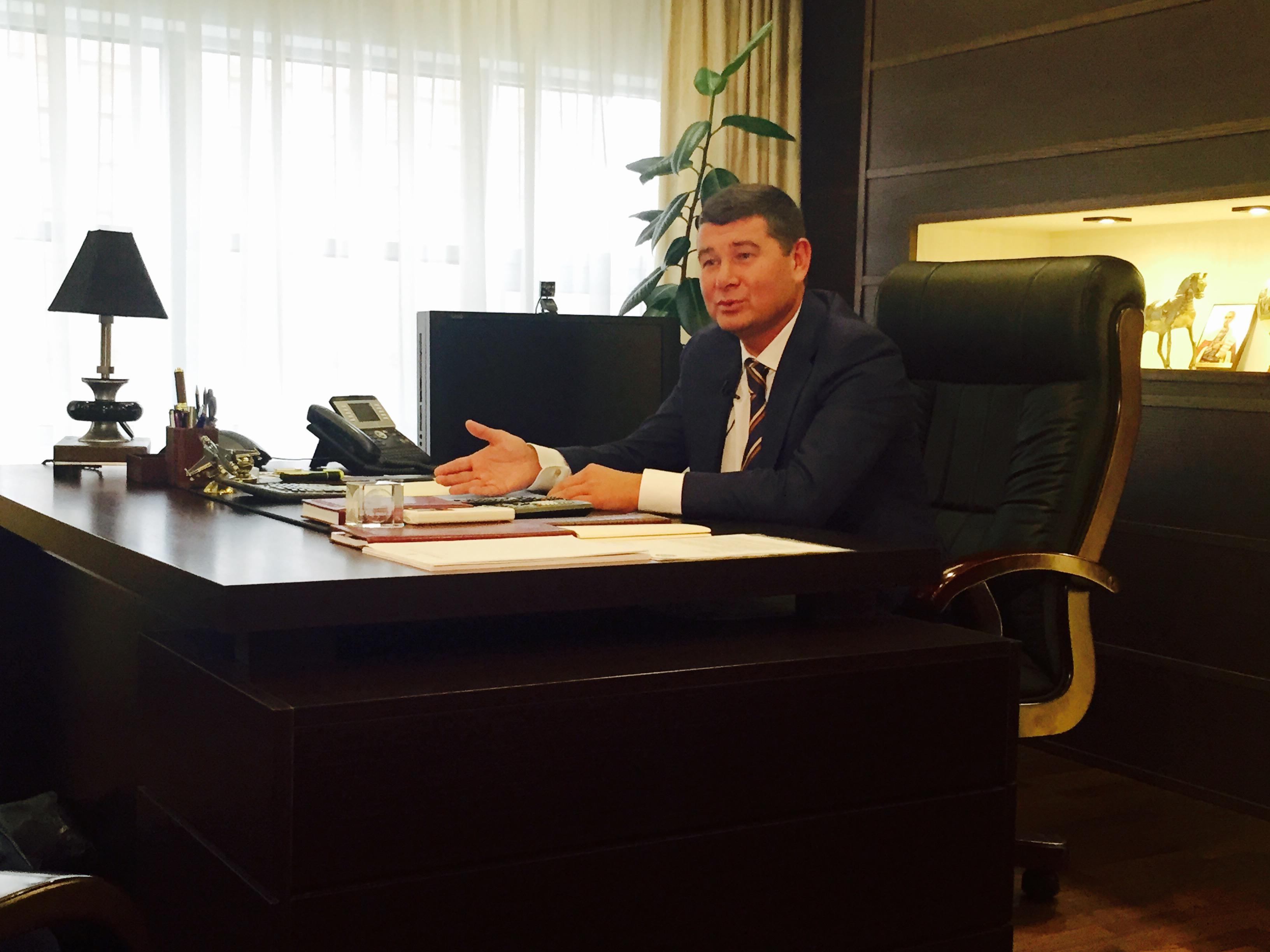 Онищенко впервые прокомментировал обвинения его адвоката в финансировании терроризма