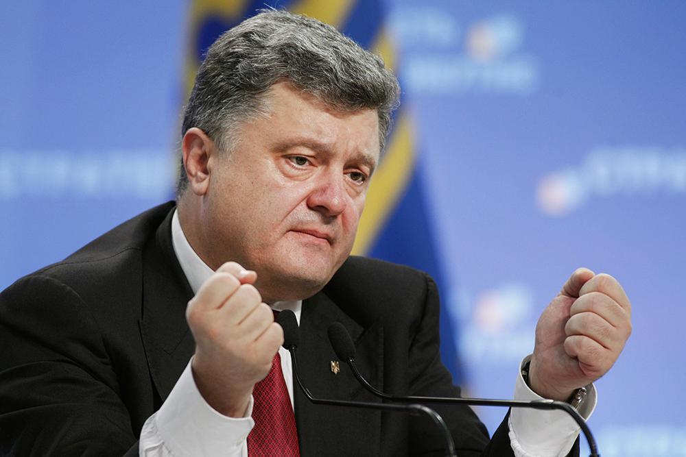 Украинцы признали Порошенко главным коррупционером страны