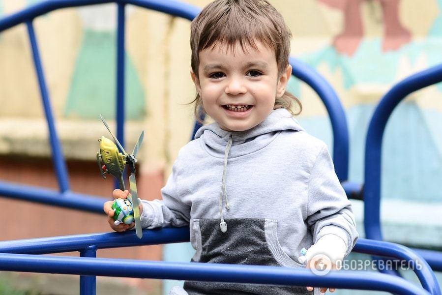 Владик хочет жить: 3-летнего малыша из Броваров спасет только срочная операция за границей