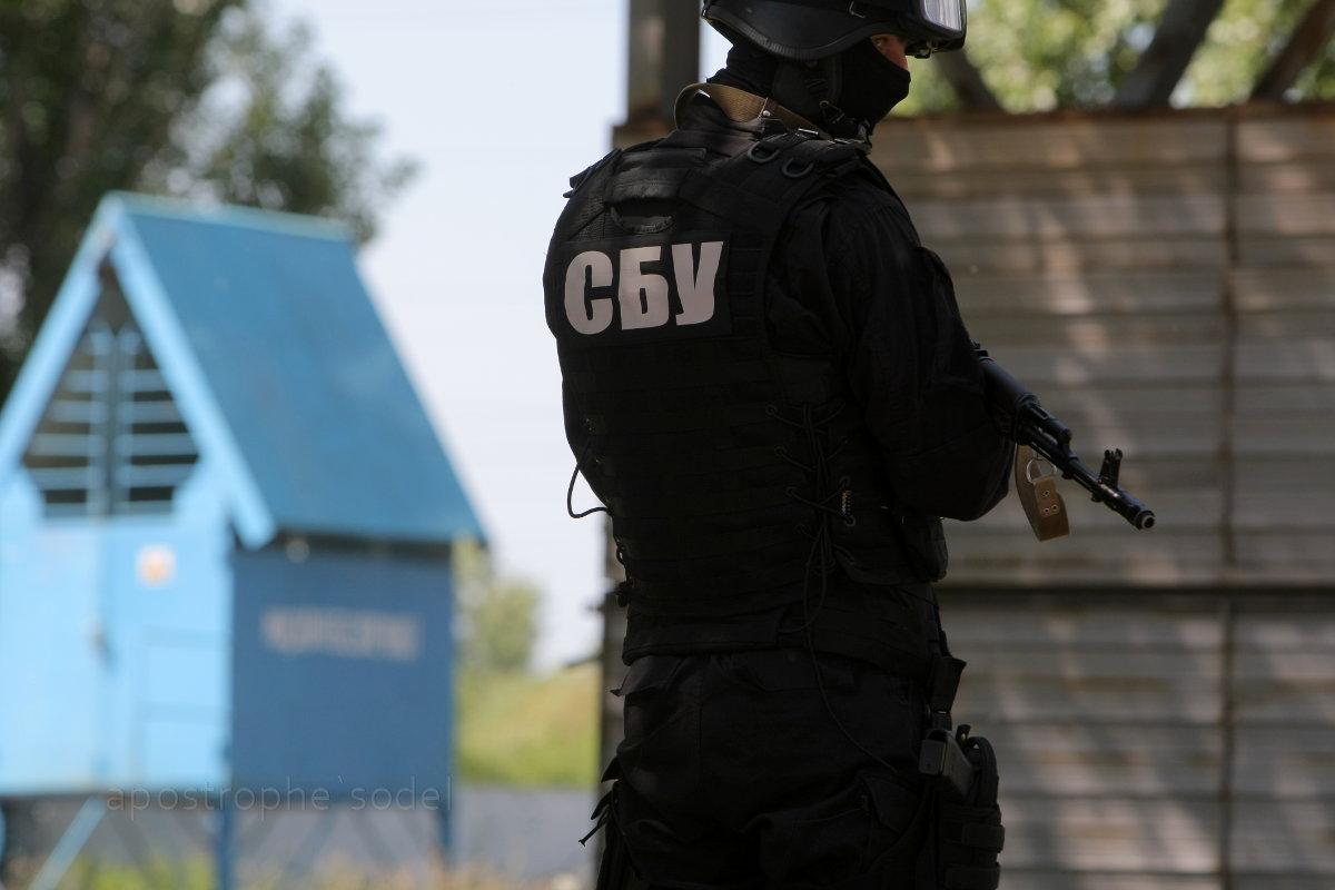 СБУ задержала на взятке главу отдела внутренней безопасности на Буковине