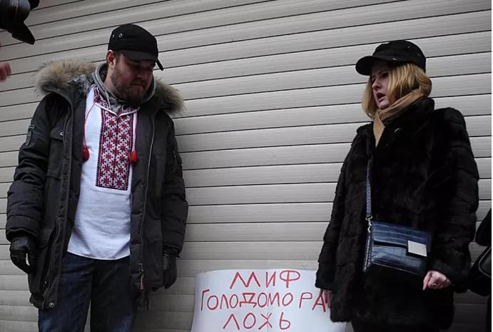 В Украинском центре в Москве сорвали показ фильма о Голодоморе