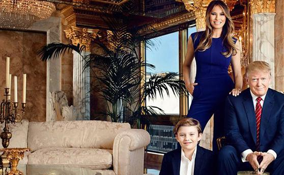 Вот так роскошь: Трамп показал свои шикарные апартаменты