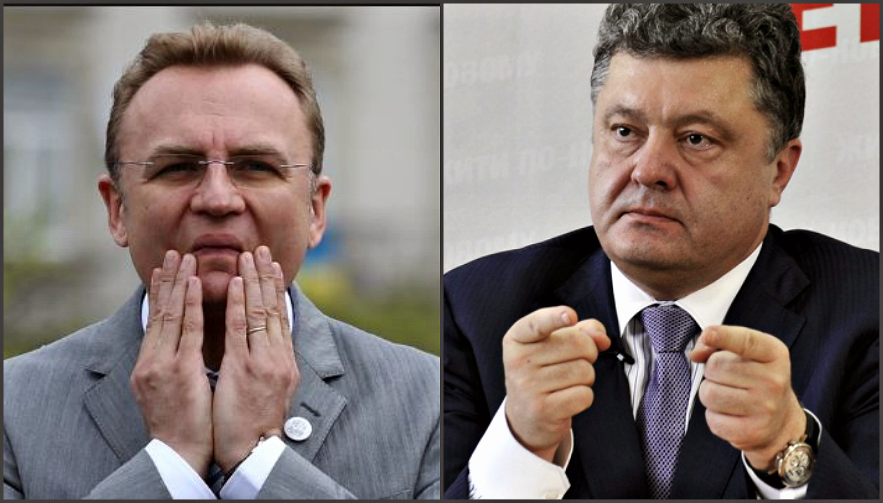 В том, что чиновники Садового берут взятки виноват Порошенко