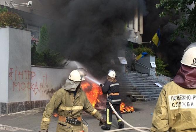 Во Львове сейчас горит многоэтажка (фото)