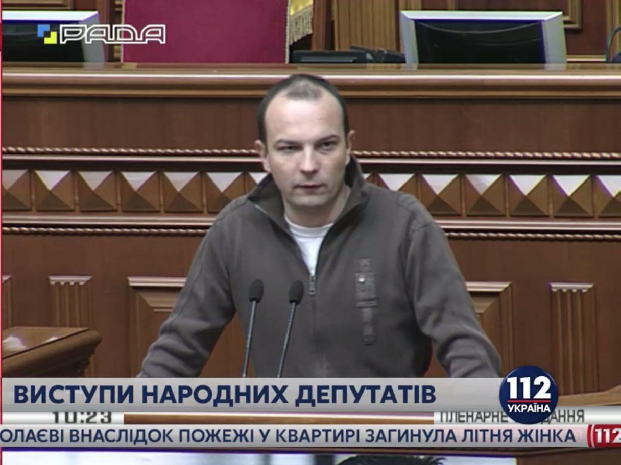 Соболев второй день доводит до бешенства своими заявлениями нардепов в Верховной Раде