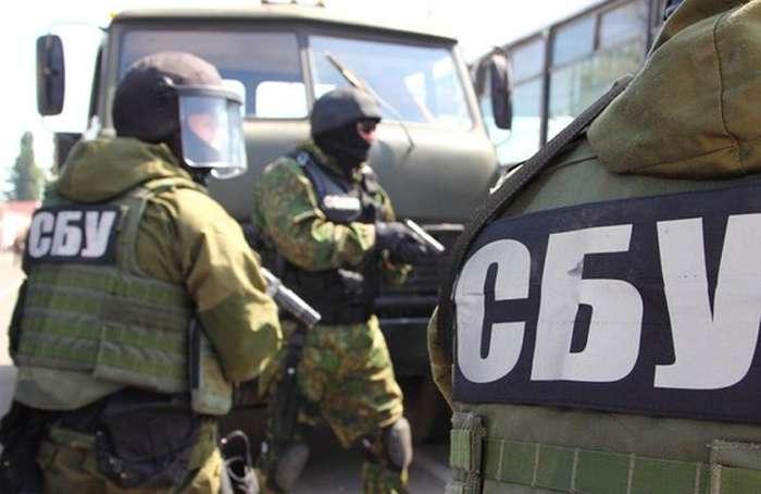 СБУ обнародовала видео задержания крымских дезертиров