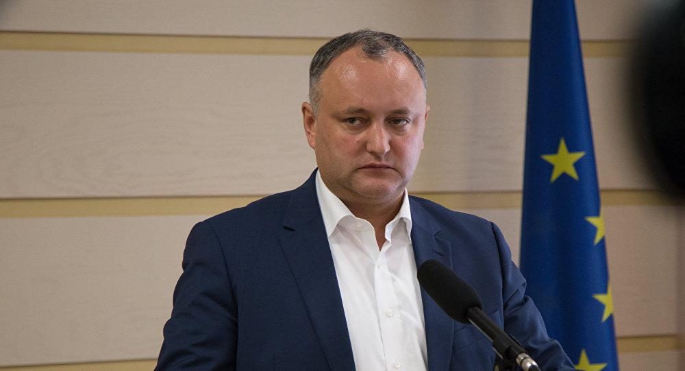Додон отреагировал на предложение объявить его персоной нон-грата в Украине