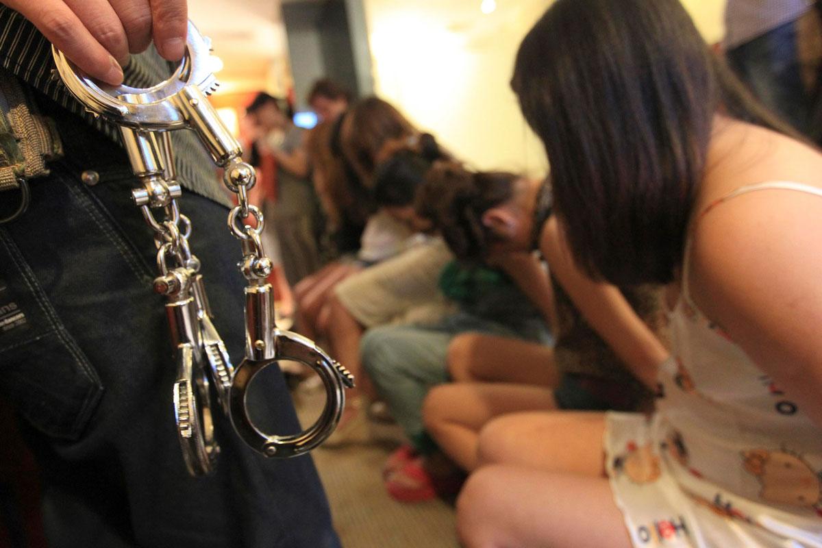 Харьковские полицейские задержали в Одессе вербовщиков «секс-рабынь»