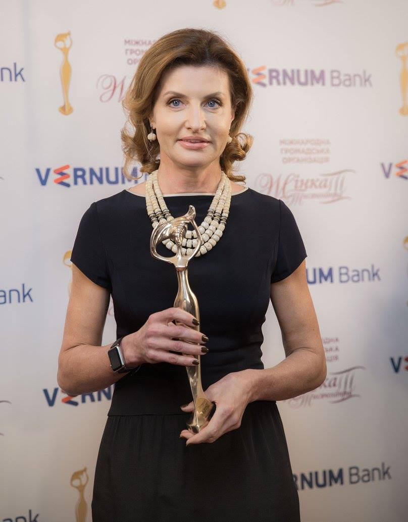 Марина Порошенко стала «Женщиной III тысячелетия»