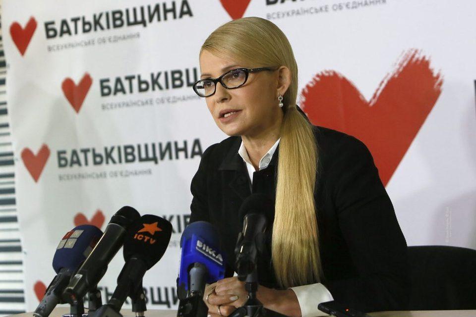 Меня убивают! – скандал на пресс-конференции Тимошенко