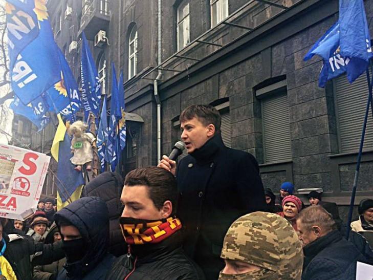 Надежда Рабиновича. Когда Савченко пошлет Юлю