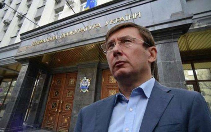 У Луценко есть просьба к Порошенко, чтобы заочно судить Януковича