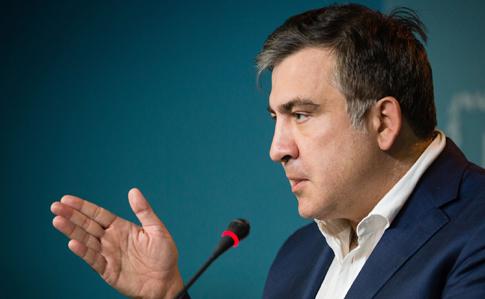 Саакашвили анонсировал открытую Раду своего нового «Движения»