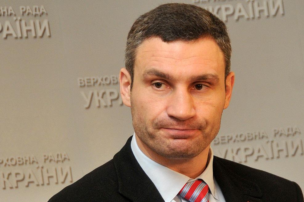 Кто бы сомневался: Кличко возглавляет рейтинг худших мэров Украины