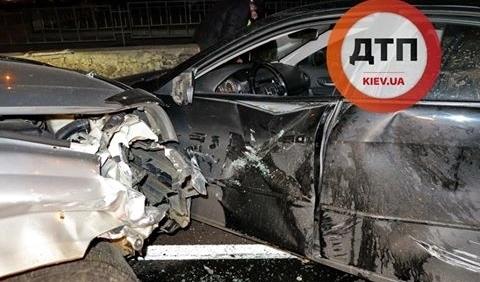 Наглый киевлянин спровоцировал аварию на Шулявке