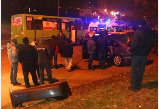 Страшное ДТП с «маршруткой» в Харькове: много погибших