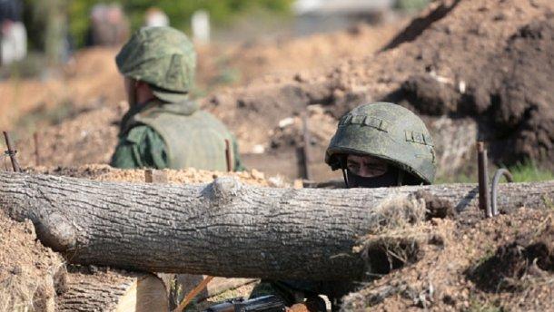 Террористы мощно обстреляли украинских военных на мариупольском направлении