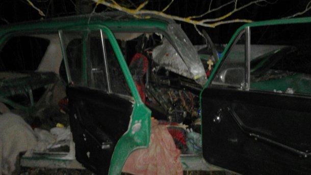 В ужасной аварии в Житомирской области погибли четыре человека