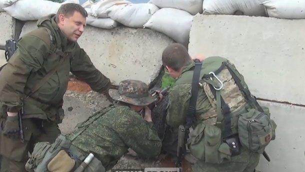 Вождь террористов «ДНР» Захарченко снова захотел захватить Украину
