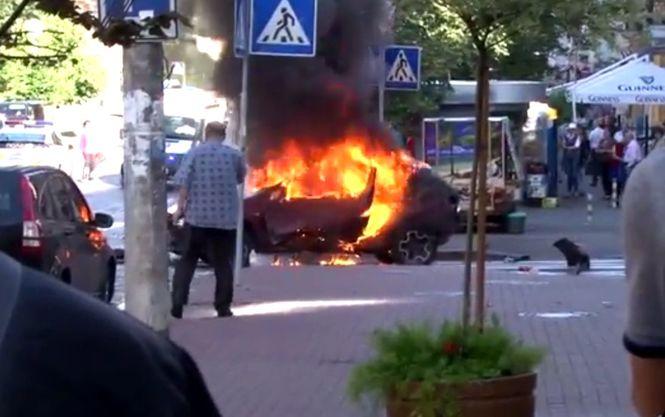 В результате взрыва машины погиб мужчина — он даже не подозревал