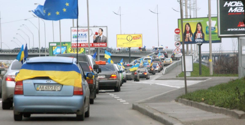 Авто «автомайдановца» в Одессе сожгли из-за украинской символики