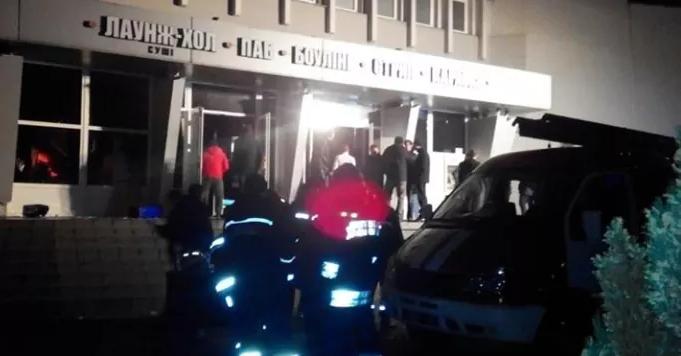 В ночном клубе Львова произошел пожар, есть пострадавшие