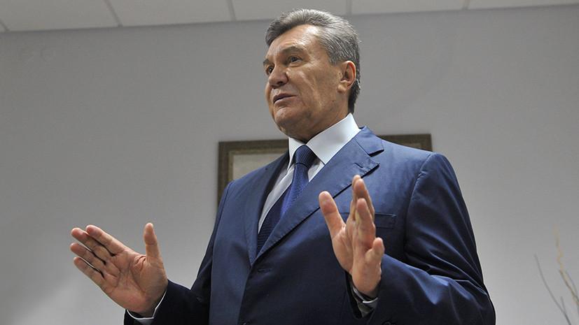 Янукович — журналистке: Вам меня не унизить. Передайте хозяевам