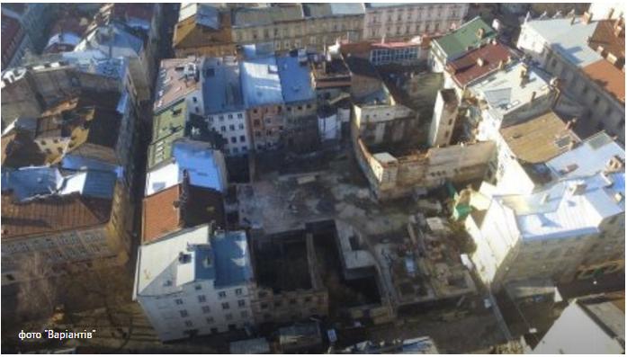 Львовский горсовет выплатит почти ₴60 млн владельцу недостроенного отеля
