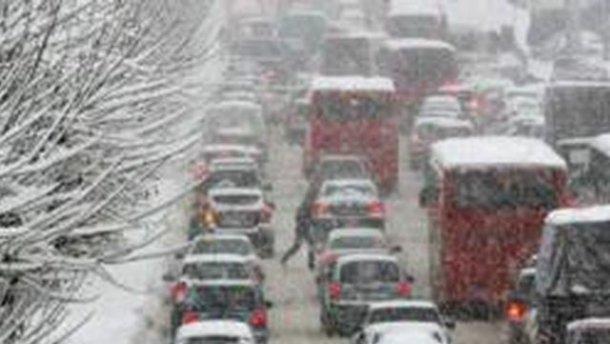 Во Львовской области ограничили движение на дорогах