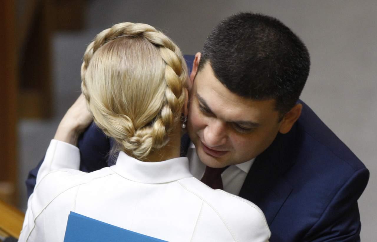 Тимошенко заявила, что Гройсман тайно увеличил себе зарплату с 30 до 100 тысяч гривен!