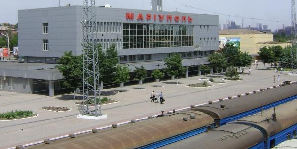 В Мариуполе на Ж/Д станции обнаружили мешок с боеприпасами