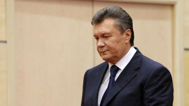 Бежавший Янукович утверждает, что «уход» Крыма спровоцировал Майдан