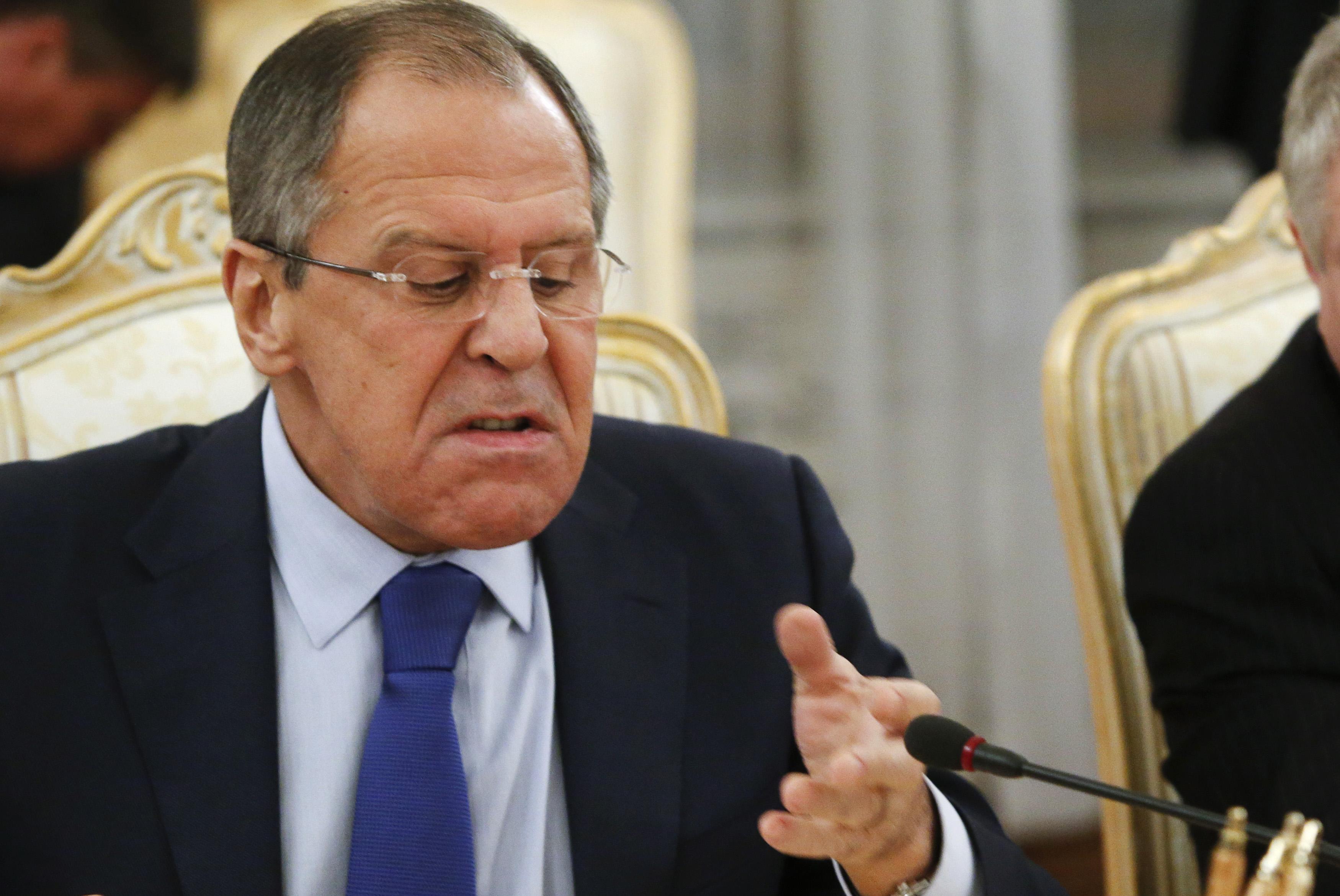 У Лаврова обвинили Порошенко в «гибридном присвоении истории»