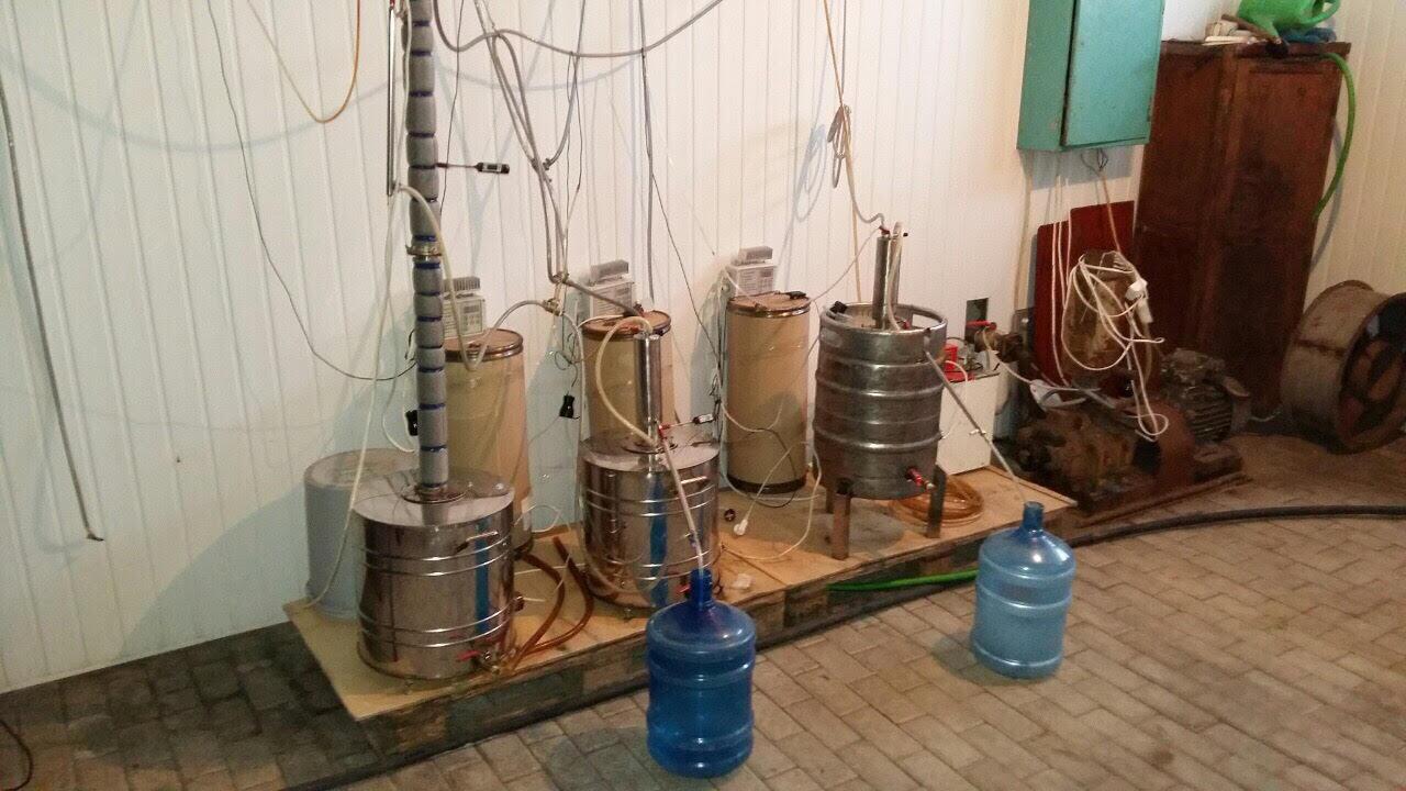 На Львовщине сотрудники ДФС изъяли незаконную партию алкоголя стоимостью руб 300 тыс.