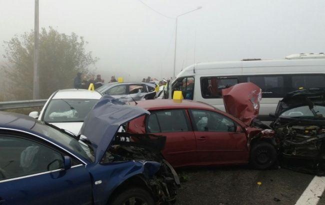 Жуткое зрелище: около 30 автомобилей попали в жестокую аварию: рекордное количество жертв (фото,видео)