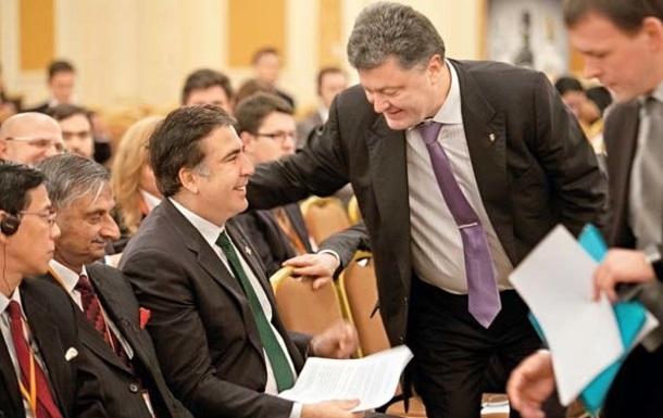 Саакашвили: Порошенко сказал мне — уберем Яценюка и все будет хорошо