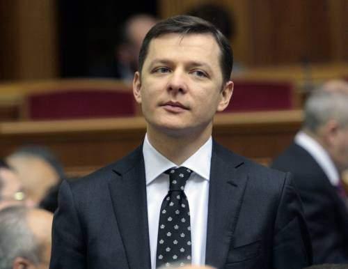 «Окровавленный» Ляшко: чем и за что облили нардепа в кулуарах парламента?