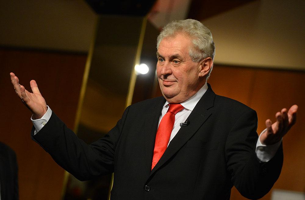 Президент Чехии пожелал согражданам «опасной жизни»