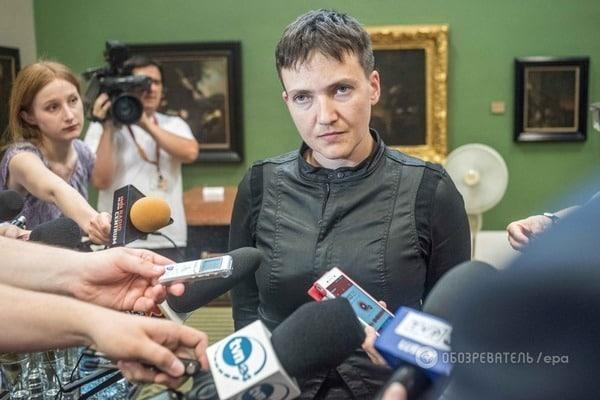 Савченко не смогла представить свою партию из-за внезапной болезни
