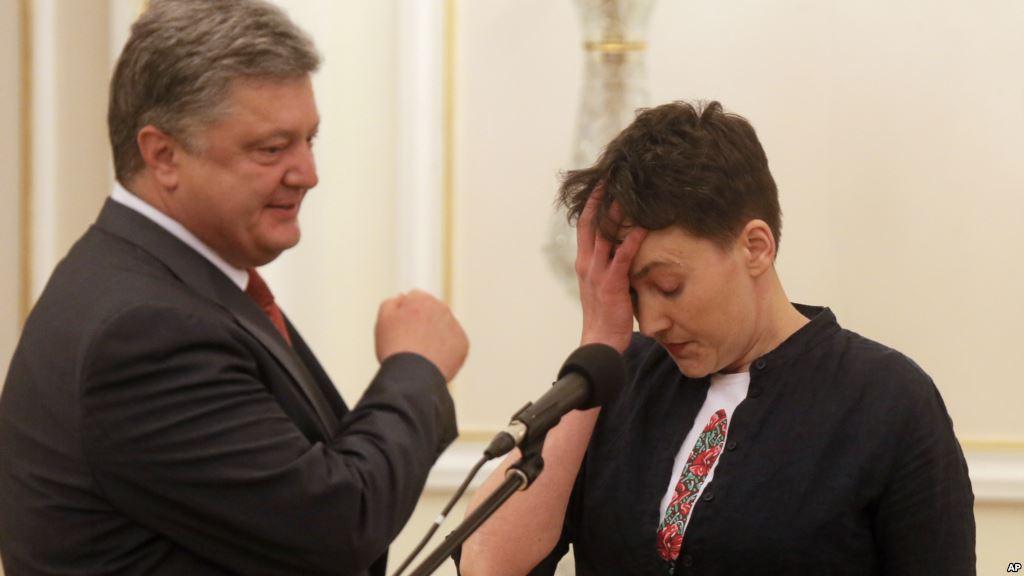 Порошенко резко отреагировал на выходки Савченко с террористами (ВИДЕО)