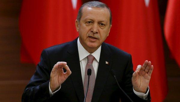 Эрдоган назвал виновных в теракте в Турции
